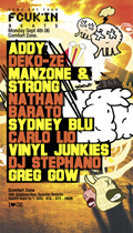 comfort zone - come get your fcuk'n beats - monday september 4th 2006 - i ♥ cz - back